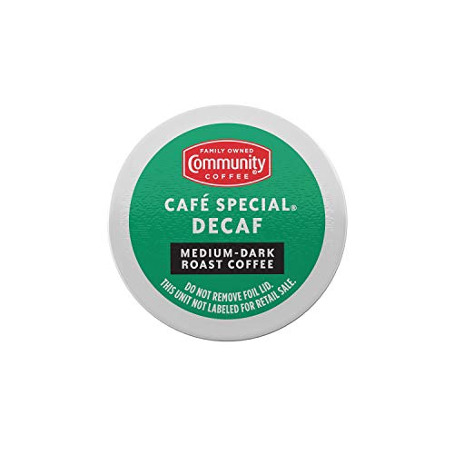 Community Coffee, Coffee K Cup Cafe Special Decaf, 4.5 Ounce