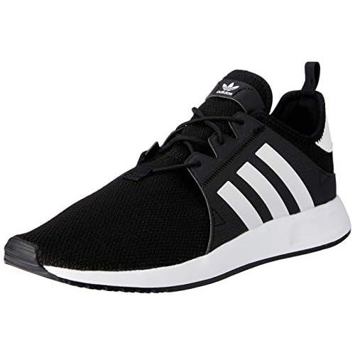 adidas X_PLR, Scarpe da Fitness Uomo, Nero (Negbas/Ftwbla 000), 45 1/3 EU