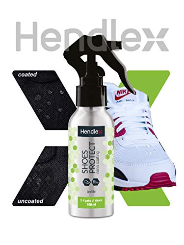 Hendlex Shoe Sneaker Protector Waterproof Spray for Shoes 3.38 oz