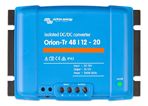 Victron Energy ORI481224110 Orion-TR Isolated DC Converter, 48 auf 12 V-20 A (240 W)