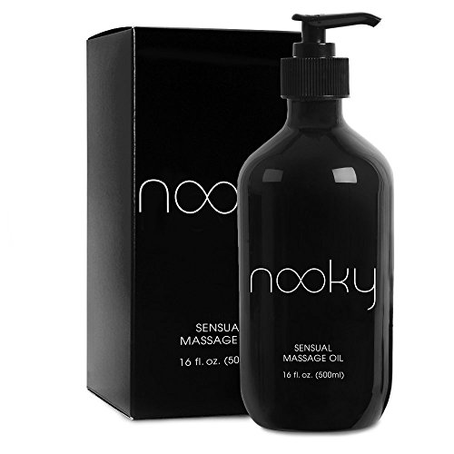 Nooky Massage Oil with 100% Premium Natural Ingredients. Relaxing...