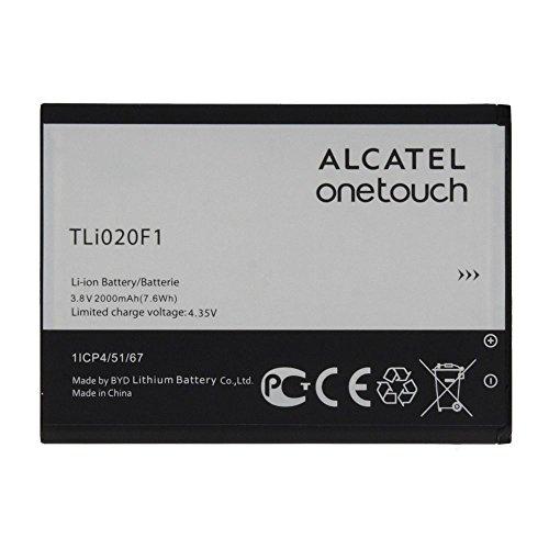 Batería de repuesto original TLi020F1 2000 mAh para TCL J720T J726T Alcatel One Touch Pop 2 5042d C7 OT 7040 7040D