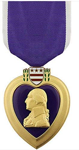West Coast Purple Heart Medal Full Size