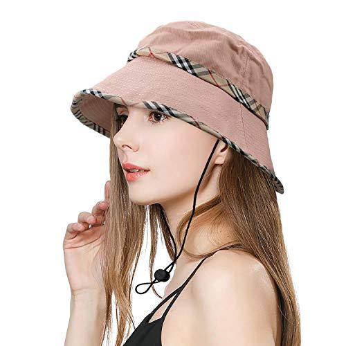 SIYWINA Cappello da Donna Cappello Estivo da Spiaggia impilabile Cappellino...