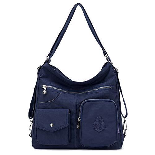 Outreo Kuriertasche Damen Schultertasche Umhängetasche Handtasche Designer Strandtasche wasserdichte Messenger Bag Rucksäcke Sporttasche Taschen für Mädchen Reisetasche Nylon