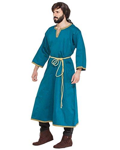 ThePirateDressing Medieval Renaissance Pirate Viking LARP Mens Costume Hippolytus Greek Tunic Medium