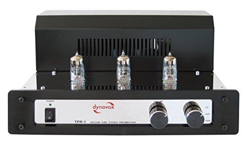 Dynavox TPR-1 Röhrenvorverstärker chrom