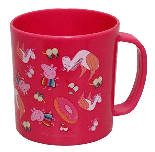 PEPPA PIG Taza de plástico para microondas Tazas de desayuno, No Aplica