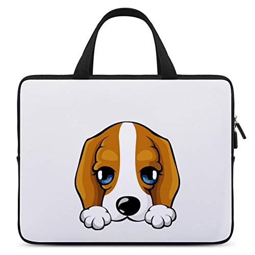 Universal Laptop Computer Tablet,Case,Cover for Apple/MacBook/HP/Acer/Asus/Dell/Lenovo/Samsung,Laptop Sleeve,Color for Dog Canidae Puppy Animated Cartoon,15inch