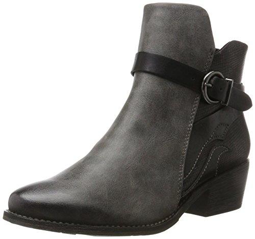 MARCO TOZZI Damen 25024 Stiefel, Grau (Dk.Grey A.Comb), 39 EU