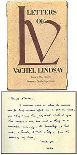 Letters of Vachel Lindsay