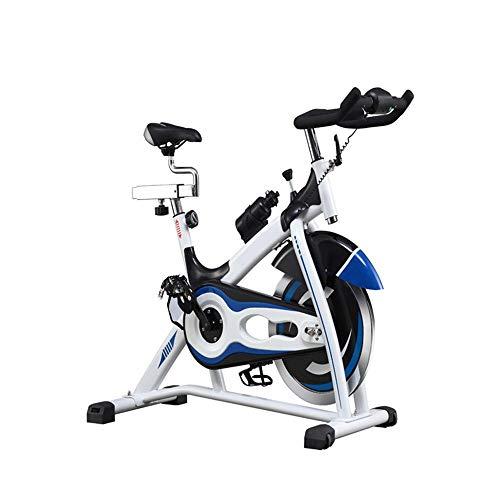 JenLn Ciclismo Indoor Bicicleta estática Cinturón Directa Ultra silencioso de Alta Gama de Bicicletas Duradero Bicicletas estáticas y de Spinning (Color : Black, Size : 100x50x120cm)