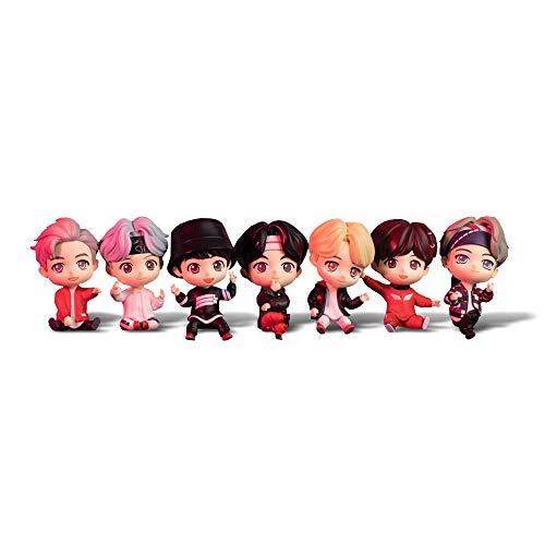 BTS Tinytan Monitor Figura (Todos los miembros(7ea))
