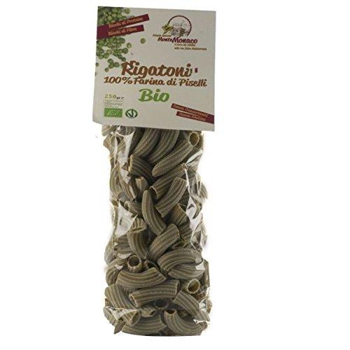 4x250g Pasta 100% Farina di PISELLI BIO - RIGATONI
