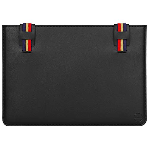 WALNEW Laptop Sleeve Case for 12.4' Surface Laptop Go, 13-13.3 Inch MacBook Air/MacBook Pro, 13.5' Surface Laptop, 12.3' Surface Pro, 13' Surface Pro X Slim Notebook Bag Cover, Black