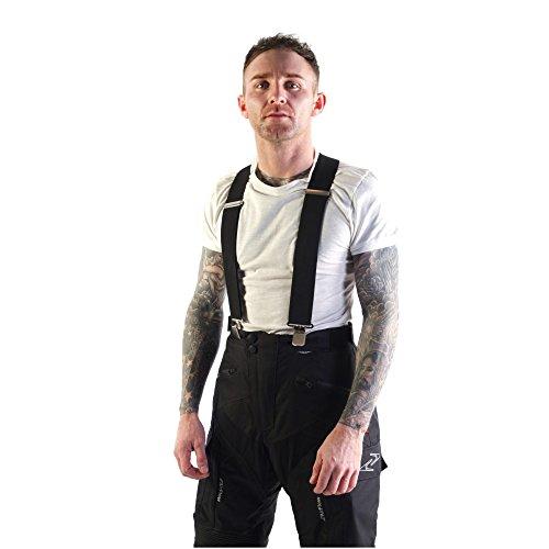 VIPER Accessories Motorrad-Zubehör Schutzkleidung Hosen XLR8 Fester elastischer Hosenträger, Black, One