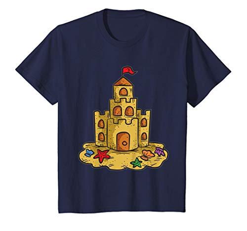 Niños Castillo de arena Camiseta