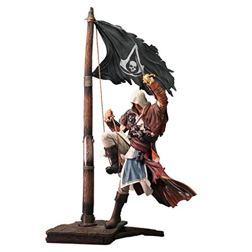 CQ Assassins Creed IV: Black Flag - Meister-Assassine Edward Atcion Figur Figur Sammlung von Spielen Geschenke 11