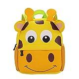 SDCVRE Mochila Escolar,Nuevo 3D Animal Niños Mochilas Niña Niños Mochila Niño Niños Neopreno Mochilas Escolares Kindergarten Cartoon Bag, 01