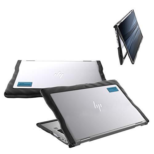 Gumdrop DropTech Case Designed for HP Elitebook x360 1030 G3 Laptop for K-12 Students, Teachers, Kids - Black, Rugged, Shock Absorbing, Extreme Drop Protection