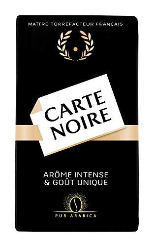 Carte Noire Café moulu arôme intense et goût unique, pur arabica - Le paquet de 250g