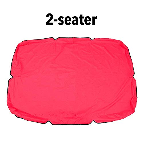 heirao4072 Replacement Canopy For Swing Seat 2 & 3 Seater Sizes,Outdoor Patio Balcony Hammock Chair Canopy Roof,Waterproof, UV Blocking Sunshade