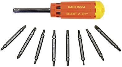 product image for Klenk Select-A-Bit Multi Screwdriver 16 Bits DA86350