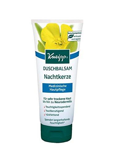 Kneipp Duschbalsam Nachtkerze Spar-Set 3x200ml. Für sehr trockene Haut bis hin zu Neurodermitis. Feuchtigkeitsspendent, hautberuhigend und juckreizlindernd. Mit Nachtkerzenöl und Mandelöl