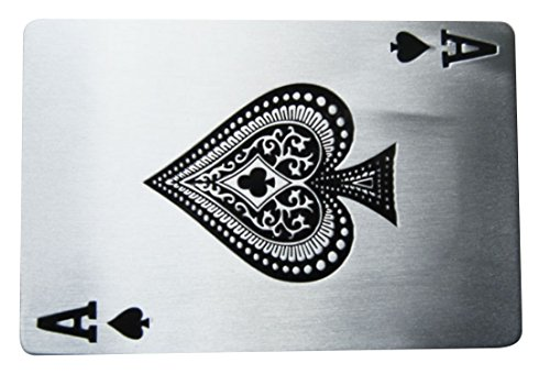 Spirit of Isis B59 Buckle Gürtelschnalle Pik As Poker