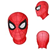 Cosplay Movie Super Hero Spider Homecoming Zipper Mask Full Face Helmet Man 3D