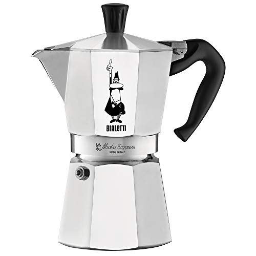 Bialetti 06800 Moka stove top coffee maker, 6 -Cup