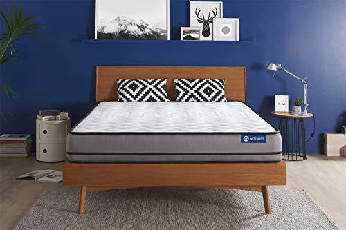 Materasso Actiflex night 120x190cm, Spessore : 20 cm, Molle insacchettate, Molto rigido, 3 zone di comfort