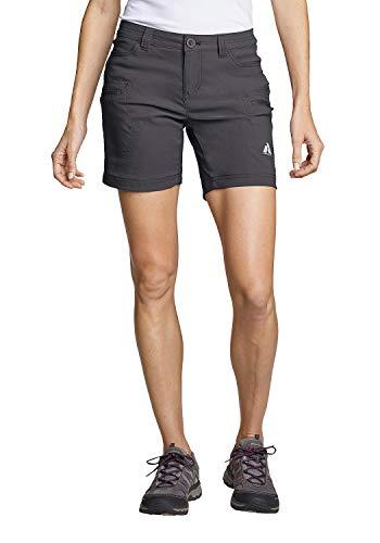 Eddie Bauer Damen Guide Pro Shorts, Gr. 6 (36), Dunkles Rauch