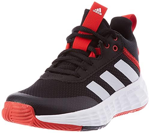 adidas OWNTHEGAME 2.0 K, Zapatillas, NEGBÁS/FTWBLA/Rojint, 36 EU
