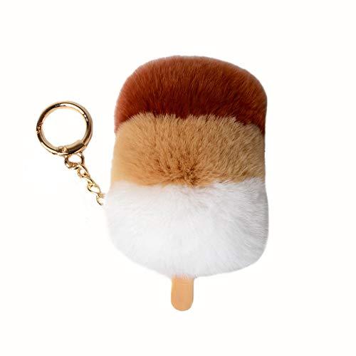 バッグチャーム キーホルダー おしゃれ レディース 可愛い アイスクリーム チャーム