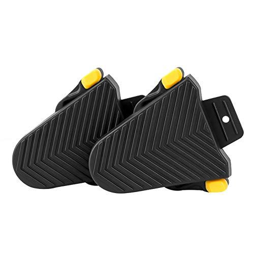 Pushfocourag - Set di 1 paio di tacchetti di protezione per pedali in gomma per Shimano SPD-SL per interni ed esterni