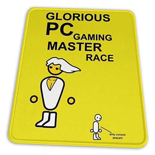 Glorious Pc Gaming Master Race Hemming The Mouse Pad 10 X 12 Inch Esports Office Study Computer