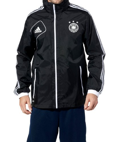 adidas Regenjacke DFB (black/white)