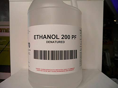 Ethanol 200 PF Denatured Extraction Solvent (1 Case(4 1gal))