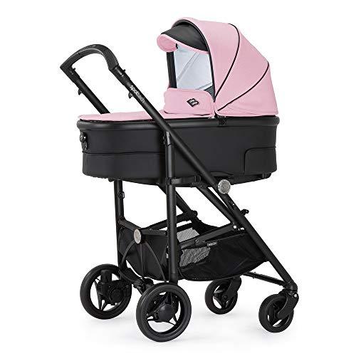 Bebecar Spot 649 - Cochecito de bebé, color rosa