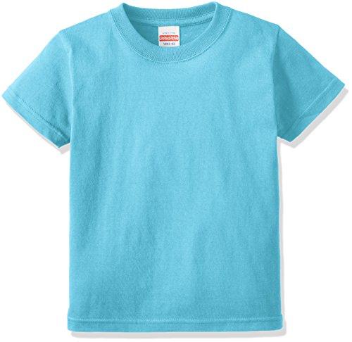 (ユナイテッドアスレ)UnitedAthle 5.6オンス ハイクオリティー Tシャツ 500102 [キッズ] 083 アクアブルー 140