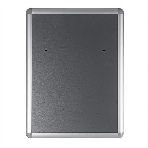 BouBou Caja de Almacenamiento de Correo de Aluminio Retro para Correo, buzón con Cerradura al Aire Libre, Cajas de Montaje en Pared