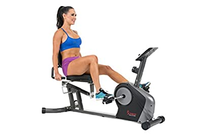 Sunny Health & Fitness SF RB4602 Recumbent Bike