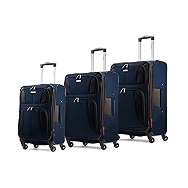 Samsonite Aspire XLite Set of 20 inch,25 inch and 29 inch Spinners, Twilight Blue