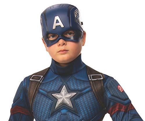 Rubie's Marvel: Avengers Endgame Child's Captain America Half-Mask
