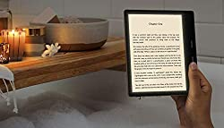 """Our best 7"""", 300ppi flush-front Paperwhite display. Adjustable warm light allows you to shift screen shade from white to amber. Waterproof (IPX8) so you can read in the bath or by the pool. Your Kindle has been tested to withstand accidental immersio..."""