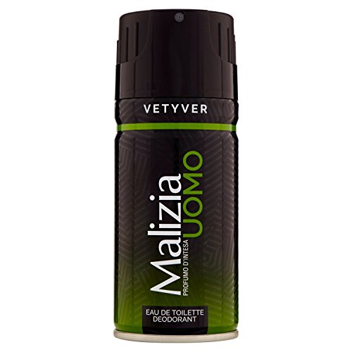 Malizia Eau de Toilette Deodorant Vetyver Green