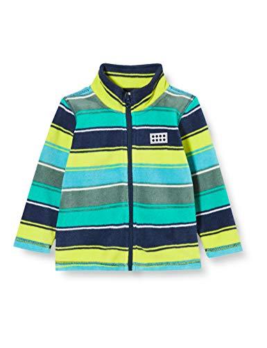 Lego Wear Jungen Lwsam Fleecejacke Jacke, Mehrfarbig (Dark Navy 590), (Herstellergröße: 92)