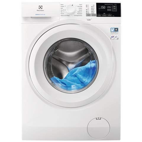 Electrolux EW6F492Y Lavatrice (Carico frontale 9kg 1200RPM A+++-20% , LCD), Bianco
