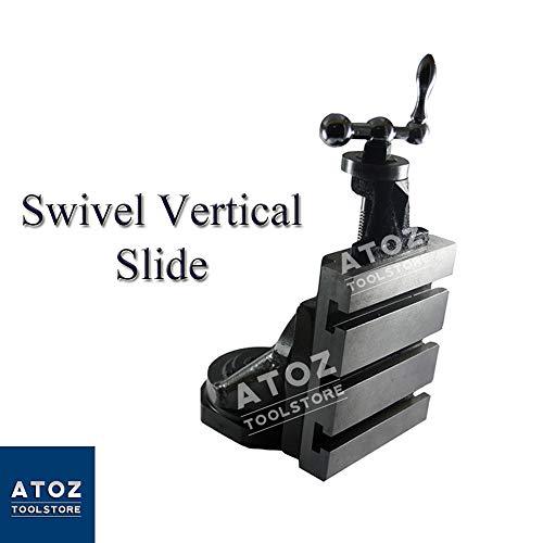 New Mini Vertical Slide 90 x 50mm and Fixed Vertical Slide 125 x 100mm Tool Post Milling Lathe Machi...